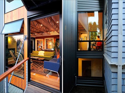 Modern Renovation - 1600SF House by Johnston Architects