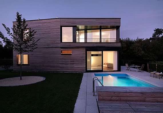 Modern Wooden House Sigg 2 House Sigg: Hear That Sweet Sound of Timber!