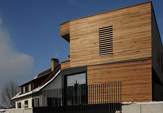 Modern Wooden House Sigg
