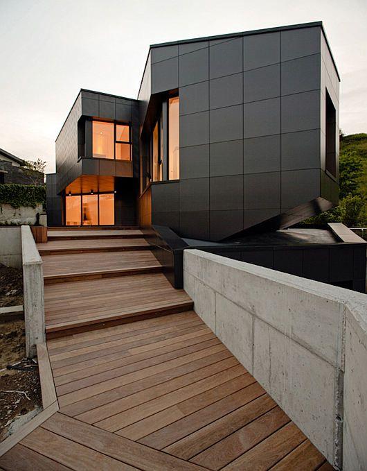 Mysterious Modern Q House