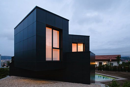 Mysterious Modern Q House