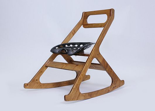 Tracy Rocking Chair by Julien Bergignat 1 Tracy Rocking Chair by Julien Bergignat
