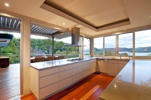 Contemporary Bayview House
