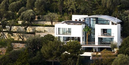 Contemporary Villa O Cap Ferrat Southern France 1 Contemporary Rental Home in Cap Ferrat, Southeastern France