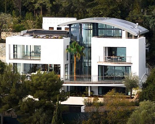 Contemporary Villa O, Cap Ferrat, Southern France 2