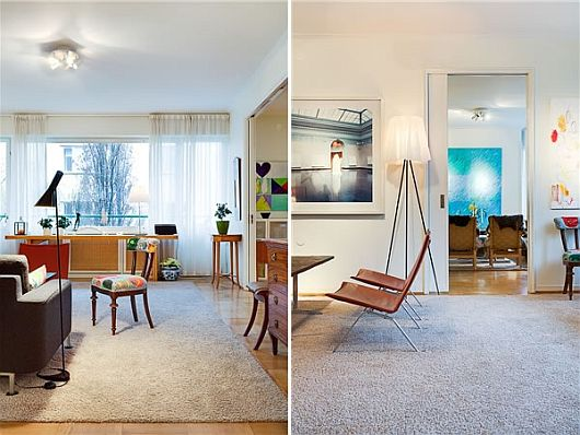 Turquoise Inspiration Colorful Swedish Apartment 3