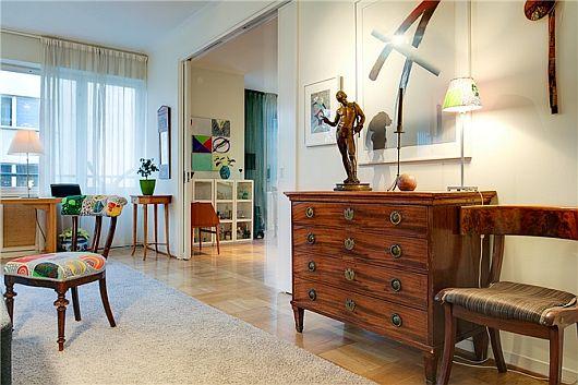 Turquoise Inspiration Colorful Swedish Apartment