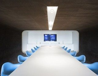 Unique Office Design for PostPanic by Maurice Mentjens Design