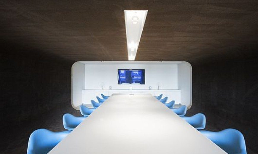 Unique Office Design for PostPanic by Maurice Mentjens Design