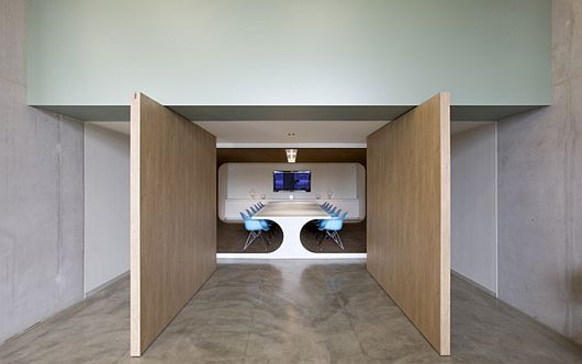 Unique office design for PostPanic