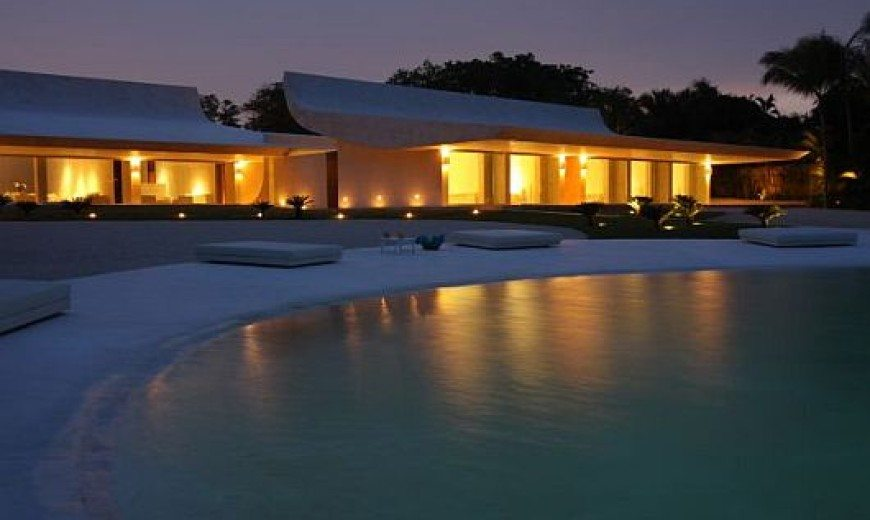 Exotic Villa in Dominican Republic by A-cero Architects