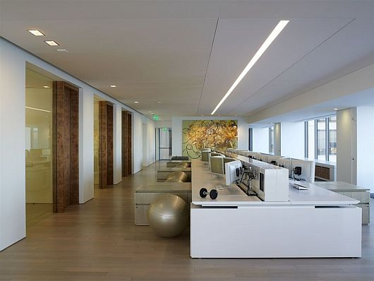 unique office interiors for artis capital management by
