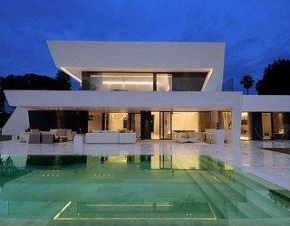 Exquisite All White Sotogrande House With Stylish Pool