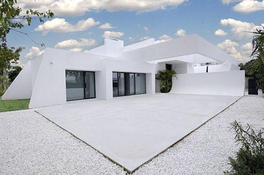 Exquisite All White Sotogrande House 11