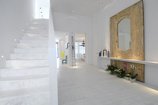Exquisite All White Sotogrande House 2 Exquisite All White Sotogrande House With Stylish Pool