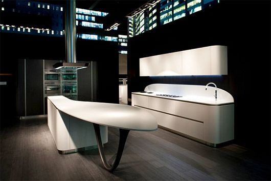 Rounded-Kitchen-Design-by-Snaidero-3 Rounded Kitchen Design