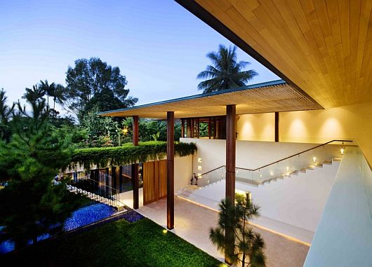 Guz Architects 39 Tangga House In Singapore A Walk From