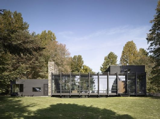 Dangle Byrd House by Koko Architecture 1 Dangle Byrd glass house by Koko Architecture: minimalist and elegant