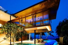 Fish House or residential Spa by Guz Architects in Singapore
