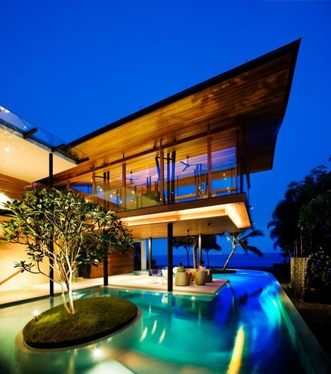 Guz fish house 15 Fish House or residential Spa by Guz Architects in Singapore