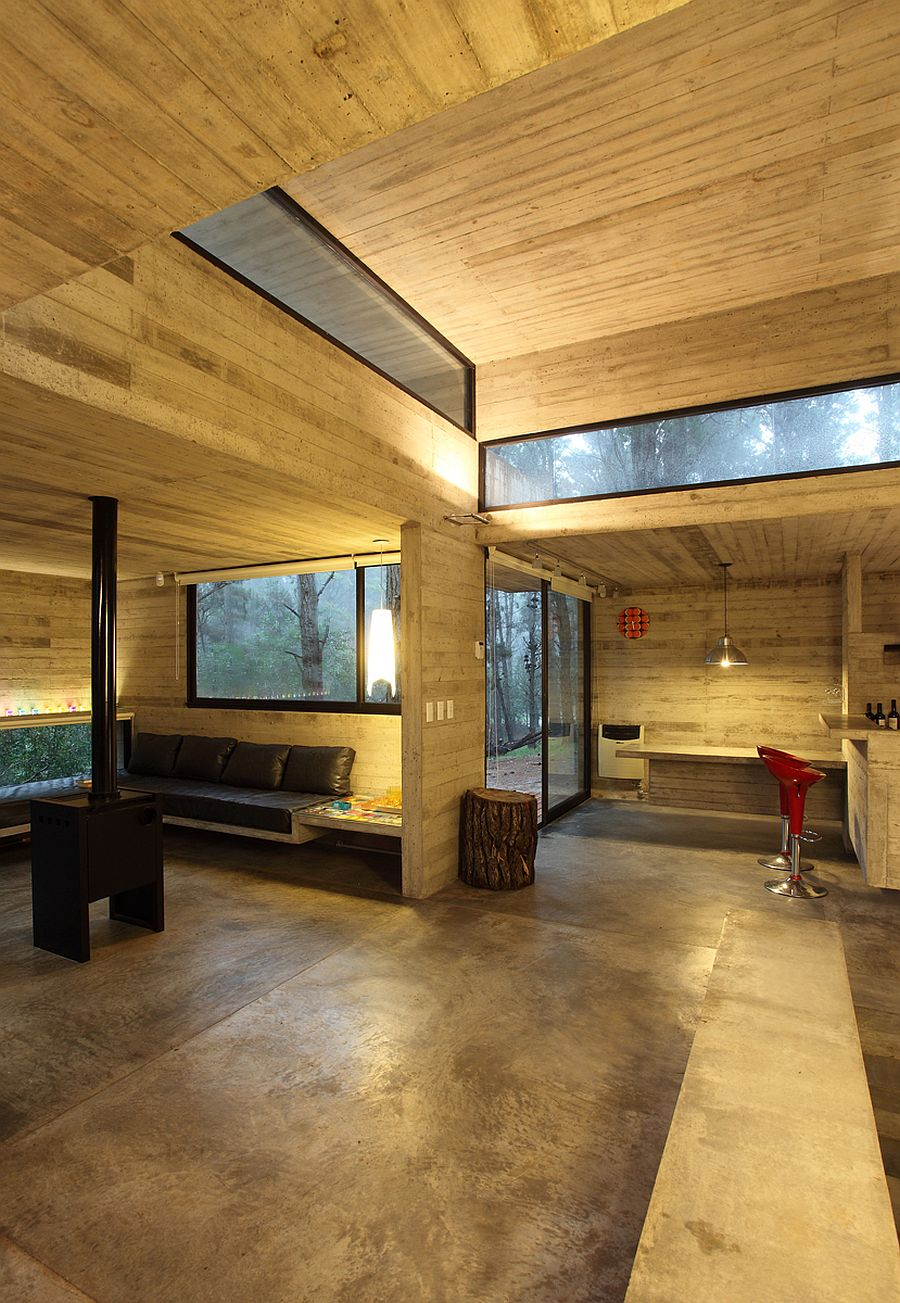 all concrete interior design