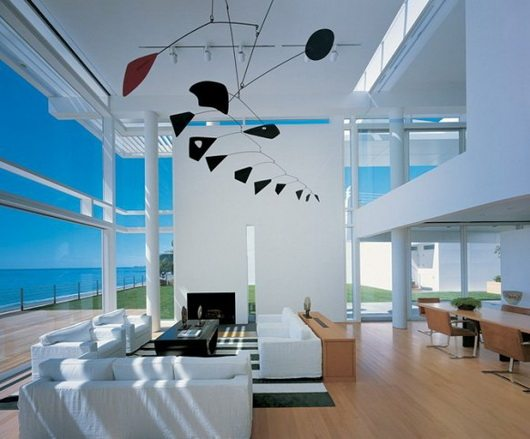 beach house 7 California beach house by Meier and Palladino, intense white and ocean