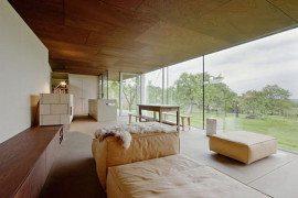 Modern Flag Residence farm house extension by Propeller Z