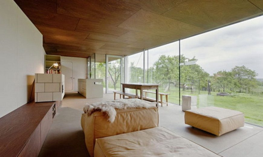 Modern Flag Residence farm house extension by Propeller Z