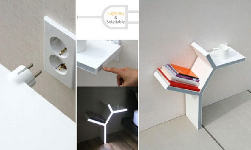 Plug-in Side table by Sung-Pil Hwang – can't ask for more