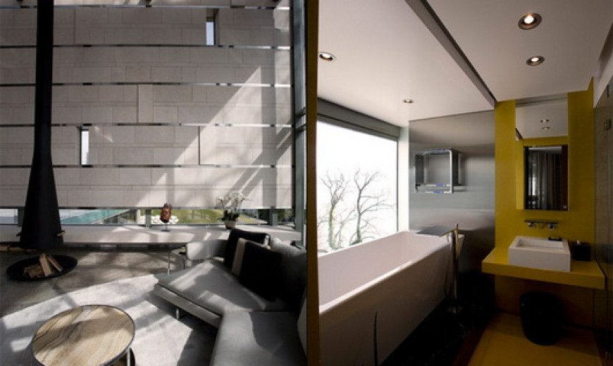Sow House by SAOTA Architecture: Home, Office and Spa in One