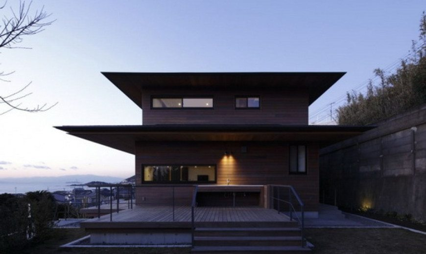 T Residence by Kidosaki Studio – elegance and traditional symbolism
