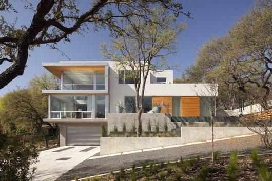 texas city view 14 Texas City View Residence by Dick Clark Architecture