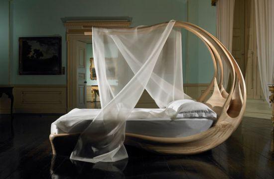 enignum 3 Enignum modern canopy bed by Jospeh Walsh