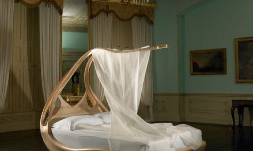 Enignum modern canopy bed by Jospeh Walsh
