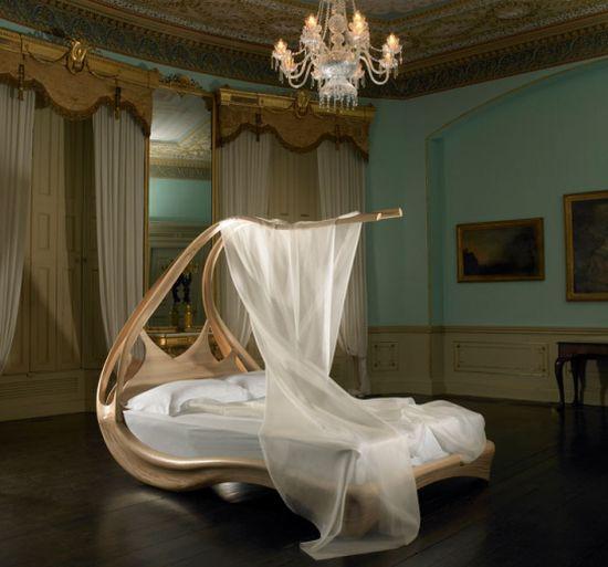 enignum 4 Enignum modern canopy bed by Jospeh Walsh