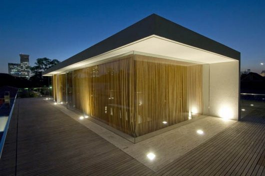 house53 19 House 53 by Marcio Kogan complete shutter facade