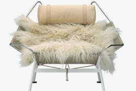 Fantastic lounge chair by PP Mobler