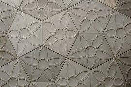 Modern decorative concrete tiles by Daniel Ogassian