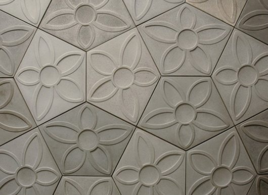 Modern Decorative Concrete Tiles By Daniel Ogassian