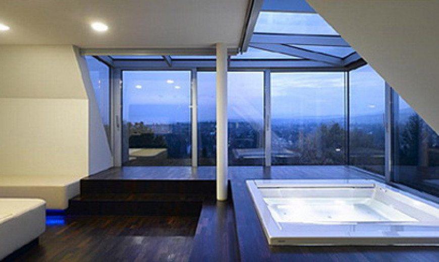 Futuristic Villa F in Vienna, by Najjar & Najjar