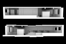 Flexible working space remodeled by Studio SKLIM