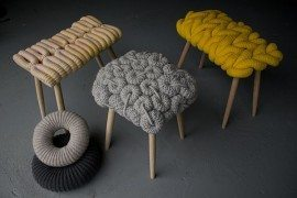 Knitted Chairs by Claire-Anne O'Brien – Surprising & Useful Art