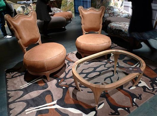 Snake Mirror and Giraffe Stools 2 Snake Mirror and Giraffe Stools; Animal Instinct in Furniture Design