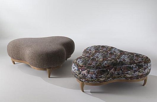 Snake Mirror and Giraffe Stools Animal Instinct in Furniture Design