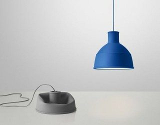 Unfold – unique rubber pendant lamp from Muuto