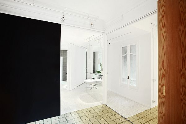 White Renovated Apartment in Barcelona 11