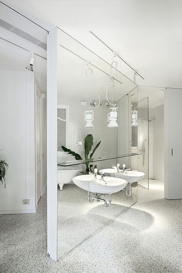 White Renovated Apartment in Barcelona 6