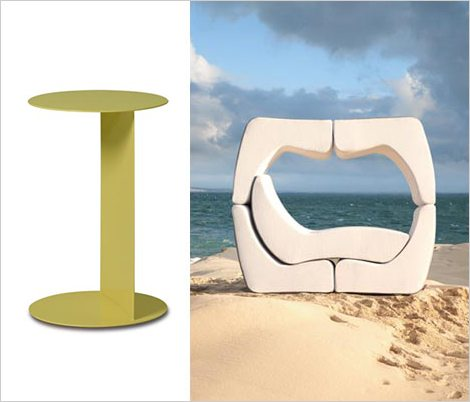 ego 6 Outdoor Furniture Puzzle from Ego Paris