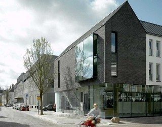 Modern extravagance: The Black House by Bakers Architecten