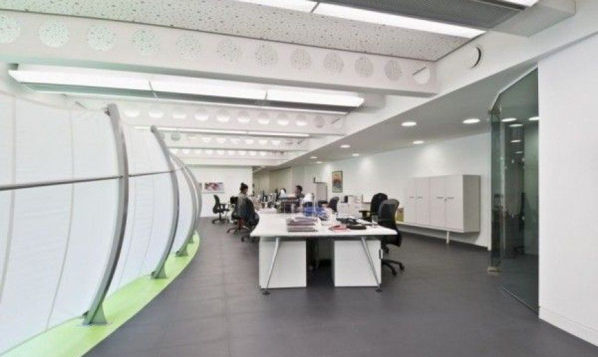 Dentsu London: Office Decoration by Essentia Designs